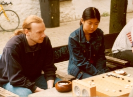 Zhao Pei / Christoph Gerlach at DPGM 2002