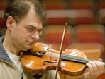 Pierre Chamot (1D) playing violin